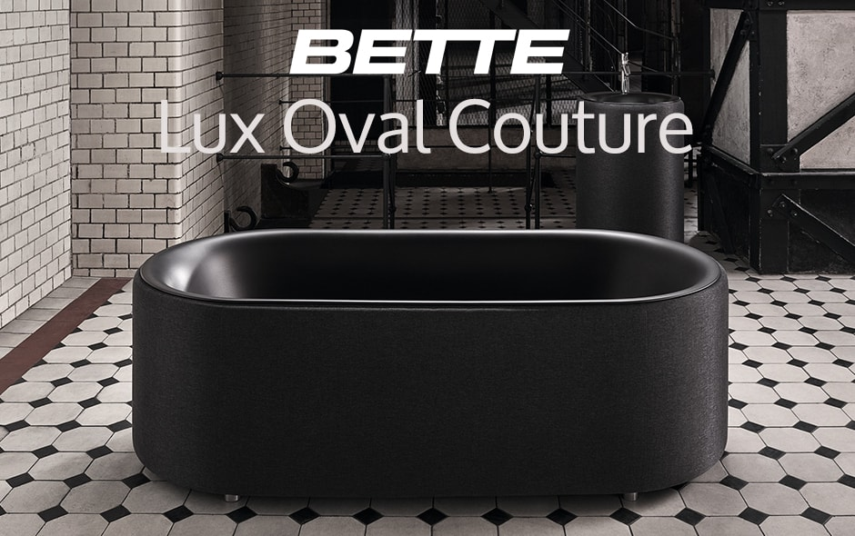 Ванны Bette Lux Oval Couture