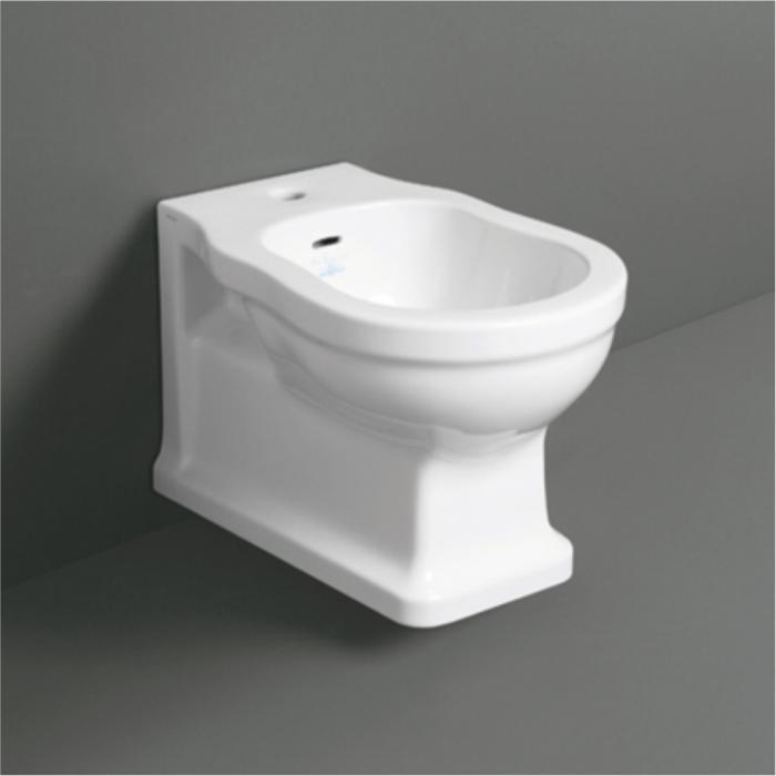 SIMAS Londra Биде подвесное с 1 отв. под смеситель, 50,5х36,5хh33см, цвет белый