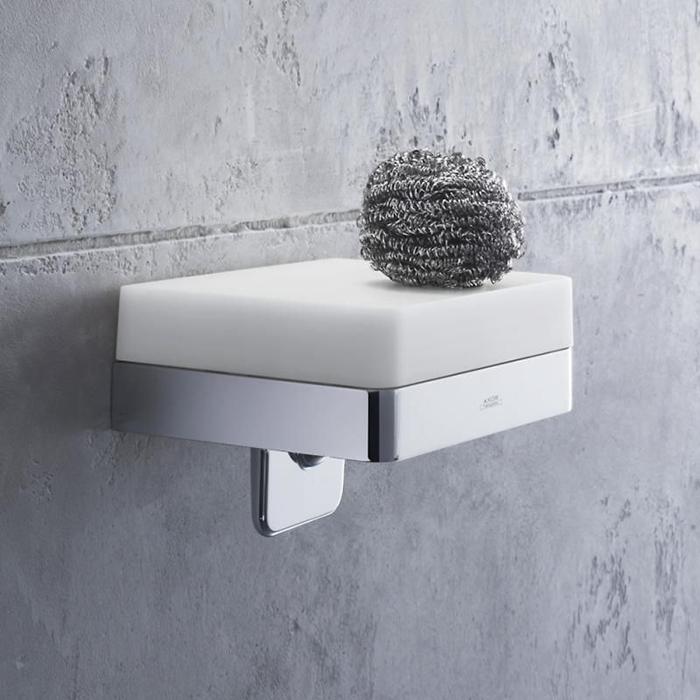 Axor Universal Дозатор для жидкого мыла с  полочкой 150 мм, цвет: хром