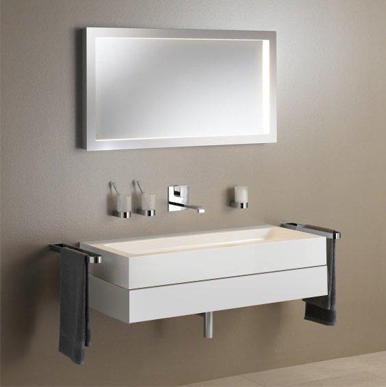 Keuco Edition 300 Комплект мебели 95x52.5х15.5 см, белый