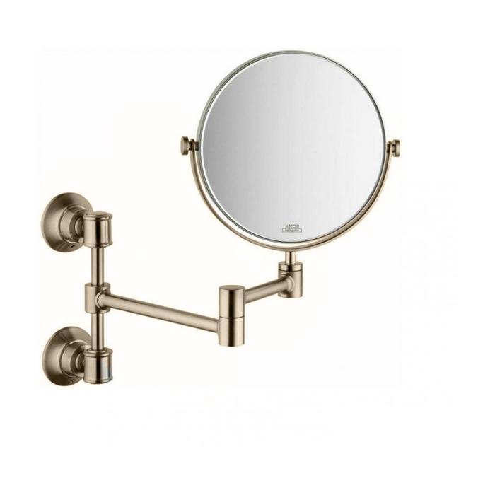 Axor Montreux Зеркало косметическое, цвет: шлиф.никель