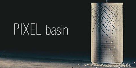 Pixel – неповторимая дизайнерская раковина от фабрики Antonio Luppi