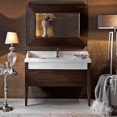 г. Москва: Kerasan Bentley дизайнерский комплект мебели из массива дерева + напольный унитаз с деревянной панелью Frassino Scuro