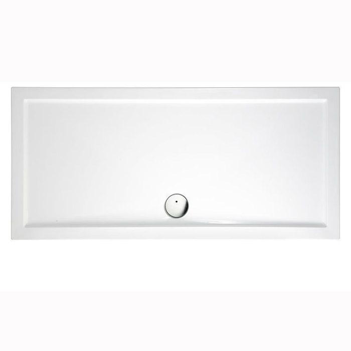 Burlington Zamori Поддон 1500 x 760мм центральный слив, цвет: белый