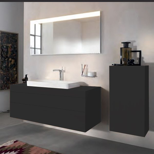 Keuco Edition 400 Комплект мебели 140х53.5х54.6 см, антрацит