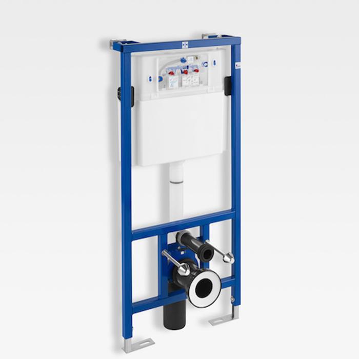Armani Roca Baia Инсталяция Duplo для подвесного унитаза 50x14-19.5x119см , цвет: синий