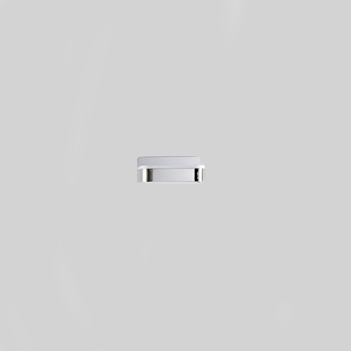 Agape Memory Мыльница, подвесная, цвет: полированый/белый Cristalplant