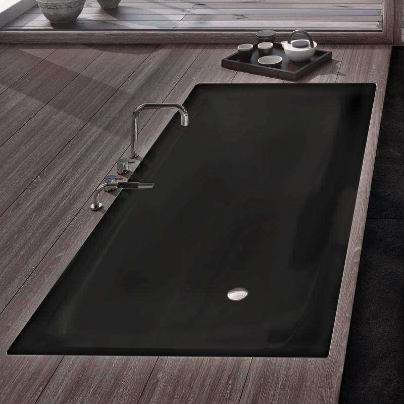 г. Москва: Kaldewei стальная ванна Silenio 170см, матового черного цвета