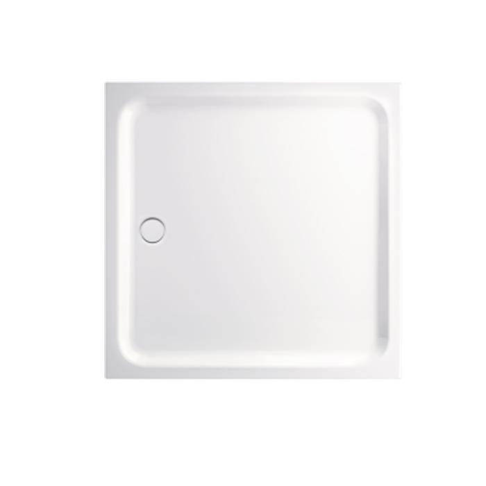 BETTE Душевой поддон квадратный 120х120хh6,5см с отв-м слива d90мм цвет белый