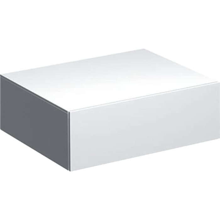 Geberit Xeno² Пенал 58х20х46.2см, подвесной, с одним выдвижным ящиком, цвет: белый