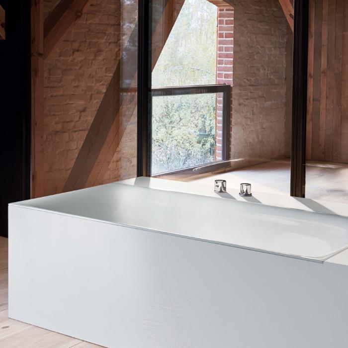 BetteLux Ванна отдельностоящая напольная 170x75x45 см, с шумоизоляцией, BetteGlasur® Plus, цвет: белый
