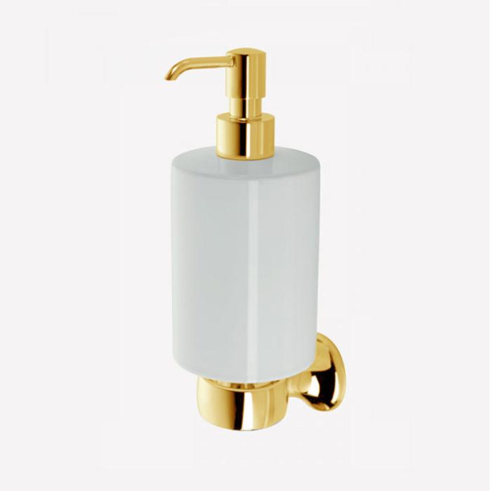 Webert Opera Дозатор для жидкого мыла подвесной, керамика, цвет: золото