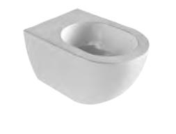 AZZURRA COMODA биде подвесное с 1 отв. под смеситель 51,5х36см, цвет белый
