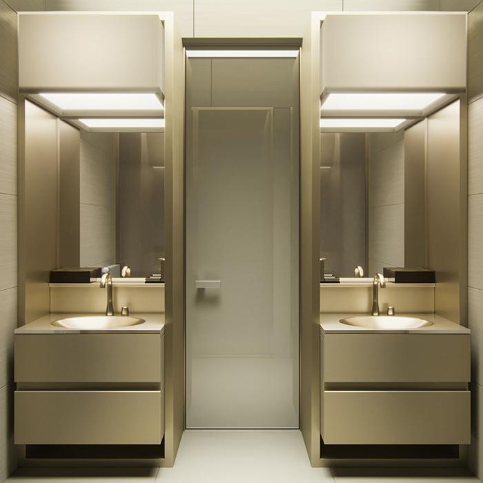 Мебель для ванной комнаты Armani Roca