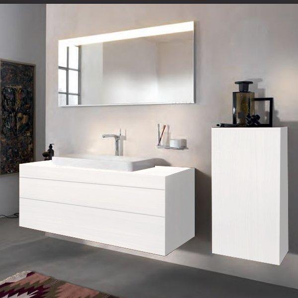 Keuco Edition 400 Комплект мебели 140х53.5х54.6 см, белый