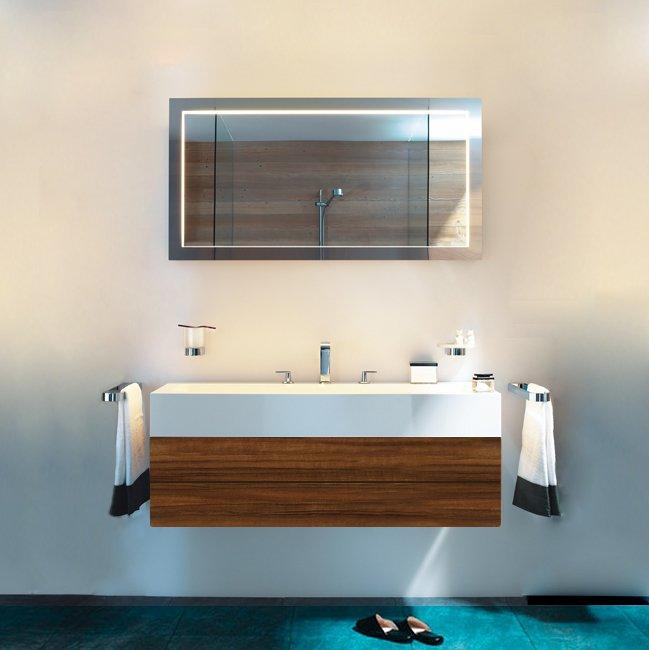 Keuco Edition 300 Комплект мебели 125x52.5х31.5 см, грецкий орех