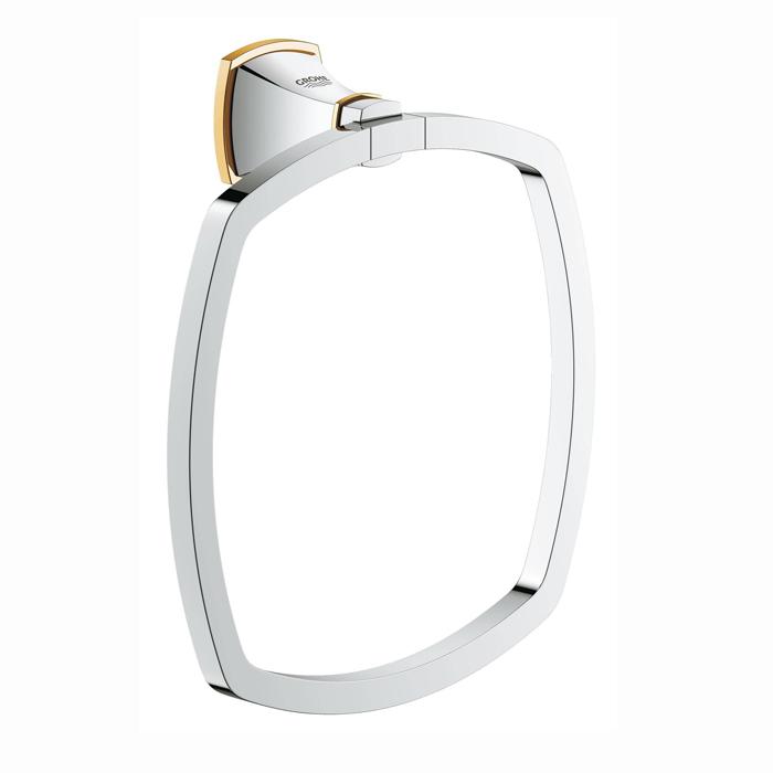 Grohe Grandera, Кольцо для полотенца, подвесной, цвет: хром/золото