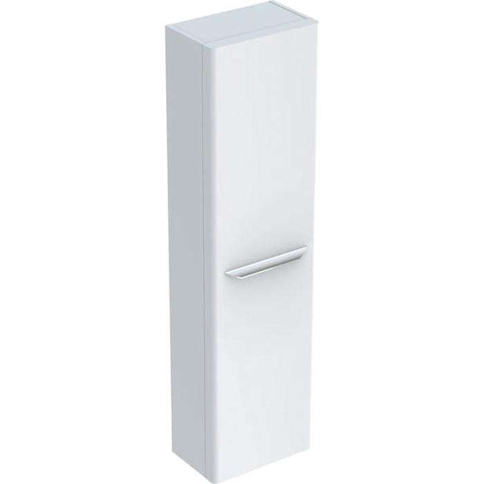 Geberit myDay Высокий пенал, 40х150х27.5см, подвесной, с одной дверью, цвет: белый