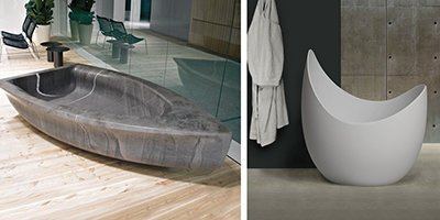 Новинка на сайте – элитные ванны и раковины Antonio Lupi