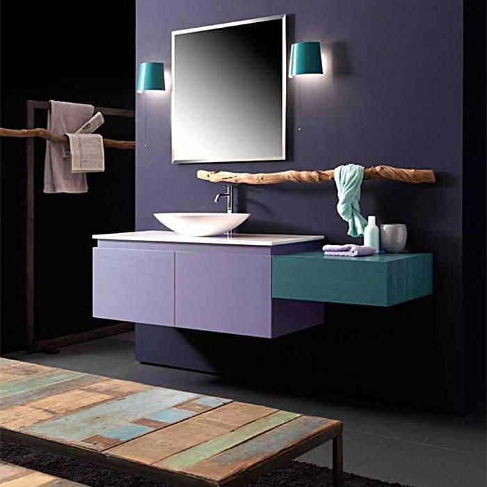 Karol KS comp. №8, комплект подвесной мебели 200 см. цвет: Yellow Pine Glicine Opaco