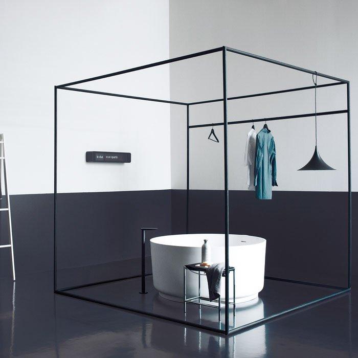 Agape In-Out Ванна отдельностоящая 130х130х60 см, цвет: белая