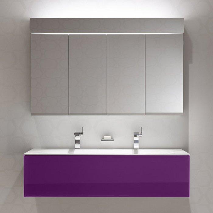 Keuco Edition 11 Комплект мебели 1400х535х350 мм, цвет: фиолетовый