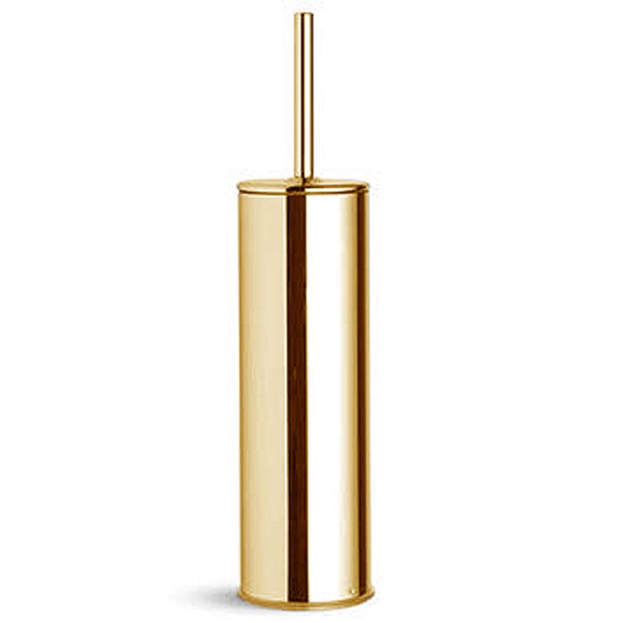 Bertocci Cinquecento Ерш напольный в металлической колбе, цвет: золото