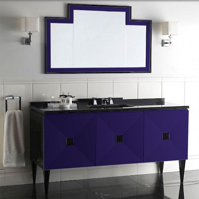 Devon&Devon Jetset, Комплект мебели, Цвет: blue violet