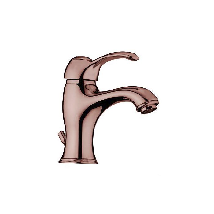 Webert Aurora Смеситель для раковины, с донным клапаном, цвет: медь