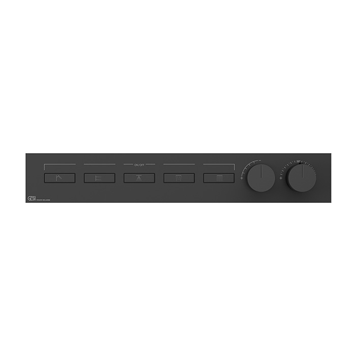 Gessi Hi-Fi Термостат для душа, с включением до 5 источников одновременно, цвет: Black XL