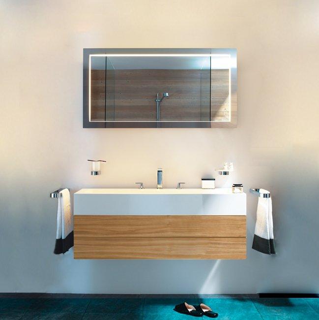 Keuco Edition 300 Комплект мебели 125x52.5х31.5 см, олива