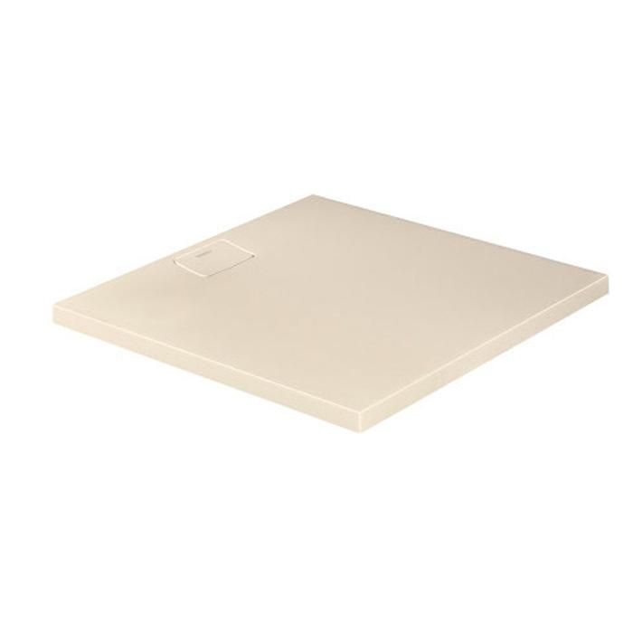 Duravit  Stonetto Поддон композитный квадратный  1000x1000х50mm, d90, цвет Песочный