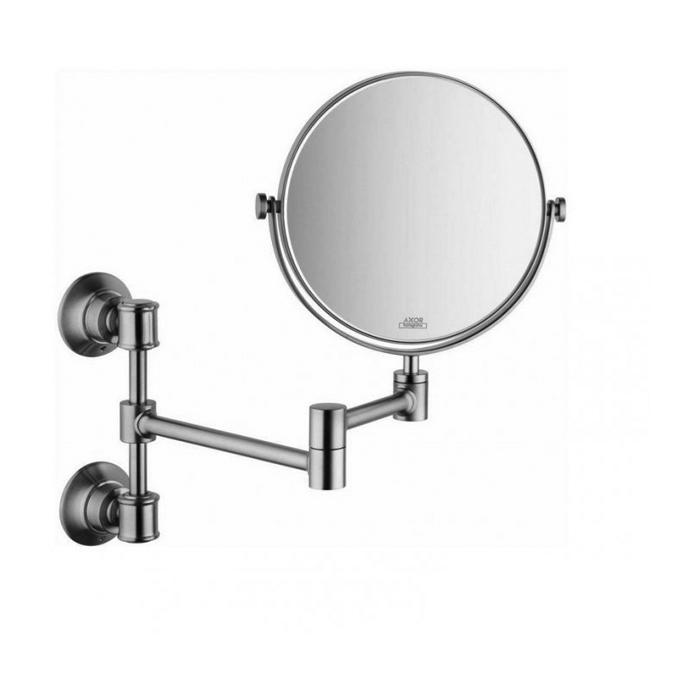 Axor Montreux Зеркало косметическое, подвесное, цвет: хром