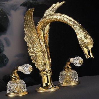"""г. Томск: Cristal et Bronze легендарный смеситель """"лебедь"""" Cygne Ailé Flamant"""