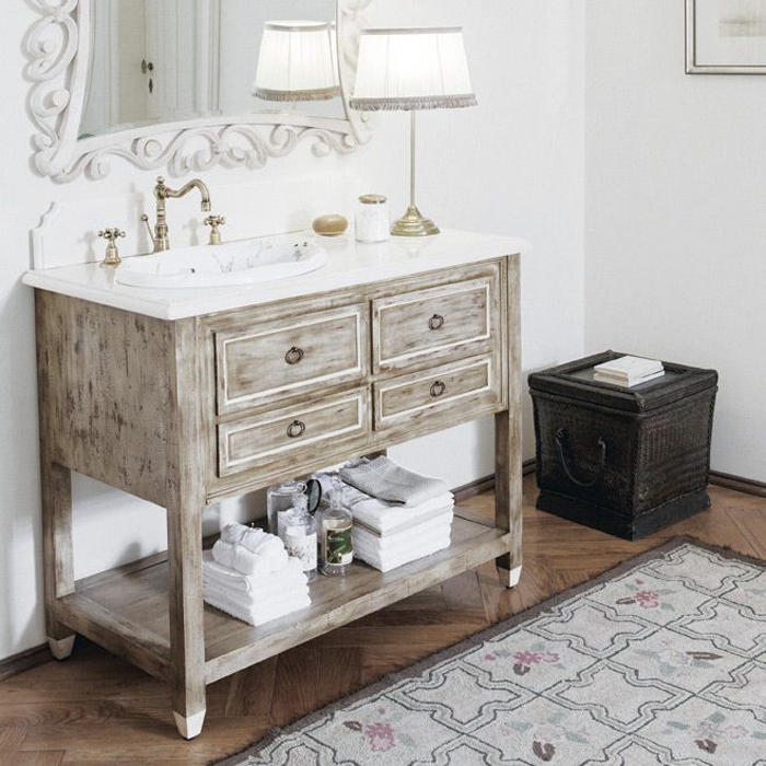 Мебель для ванной комнаты Gentry Home Dustin