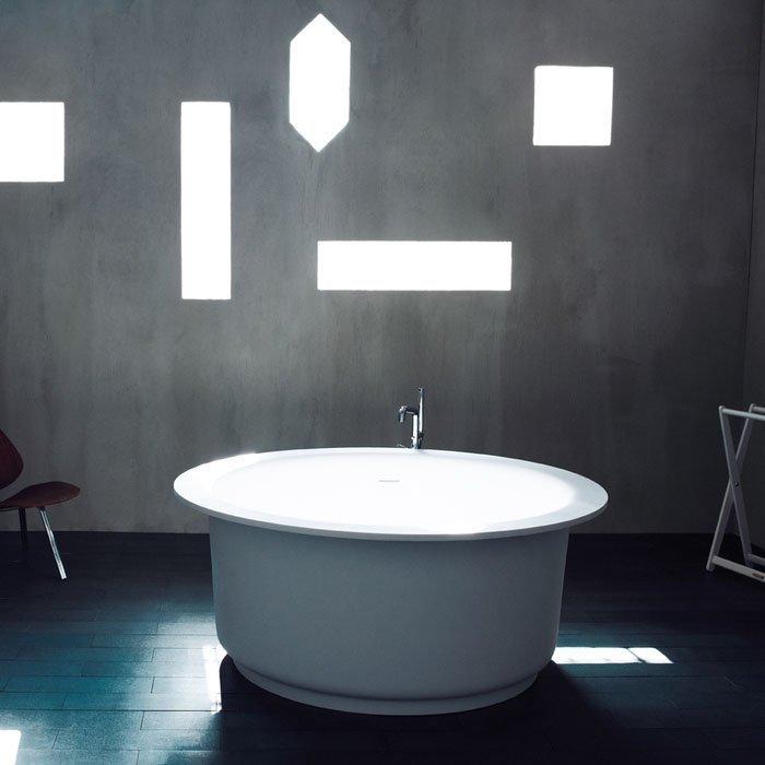 Agape In-Out Ванна отдельностоящая 152.5х152.5х64 см, цвет: белая