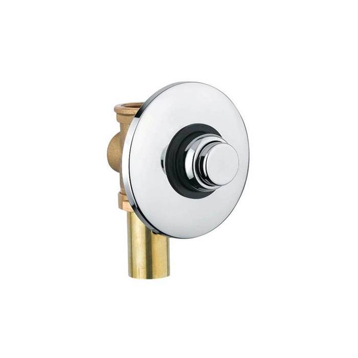 Noken Complementos Настенная кнопка смыва скрытого монтажа для унитаза, выпуск в стену, цвет: xром