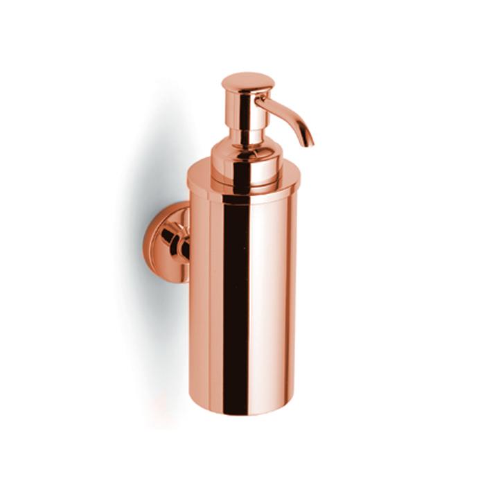 Bertocci Cinquecento Дозатор подвесной в металлической колбе, цвет: розовое золото