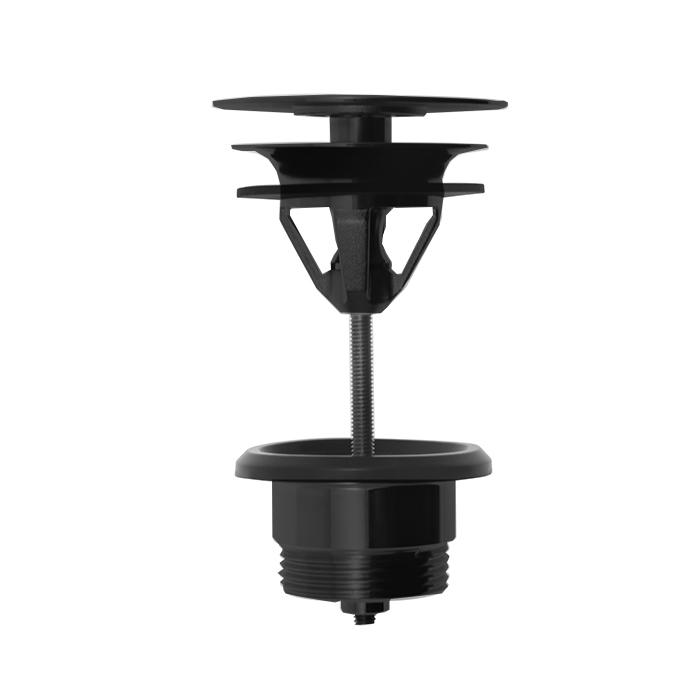 Carlo Frattini Sottolavabo Донный клапан, незапираемый, цвет: черный матовый