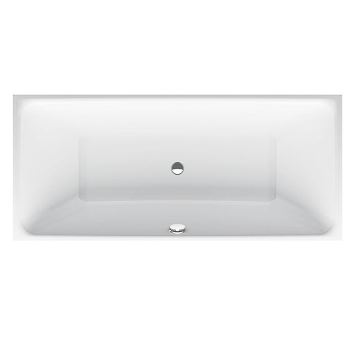 BETTE Loft  Ванна  с шумоизоляцией 1700х800х420 мм, цвет белый (для удлиненного слив-перелива)