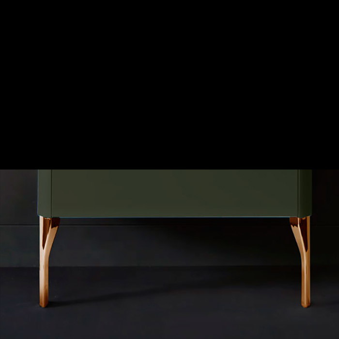 Kerasan Waldorf Ножки для базы под раковину (комплект 2шт.), цвет золото