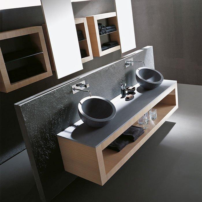 Karol Xil comp. №5, комплект подвесной мебели 205 см. цвет: Rovere Sbiancato