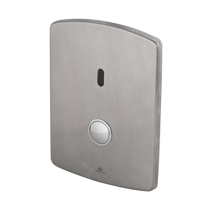 Noken Complementos Инфракрасная система смыва для унитаза, выпуск в стену, цвет: полированная нержавеющая сталь