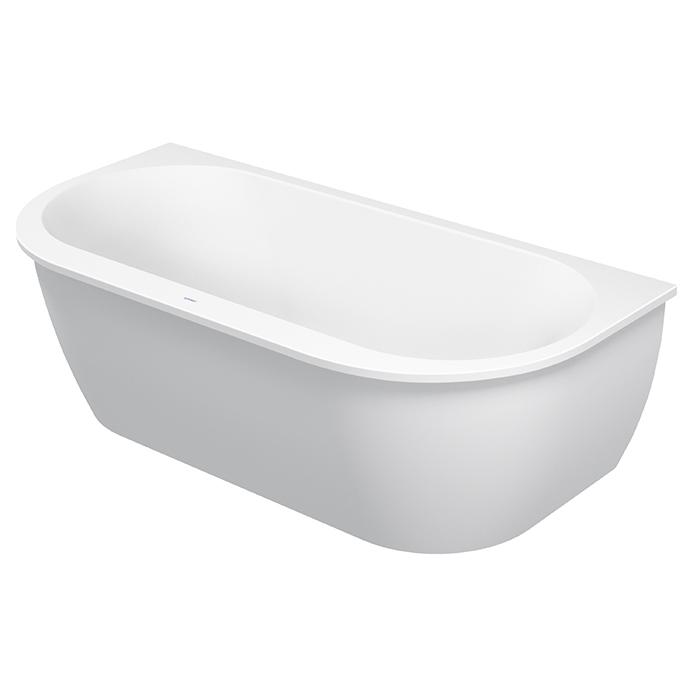 Duravit Darling New  Ванна 1900х900 мм, акриловая, пристенный вариант, с панелью и ножками,с 2 наклонами для спины, цвет белый