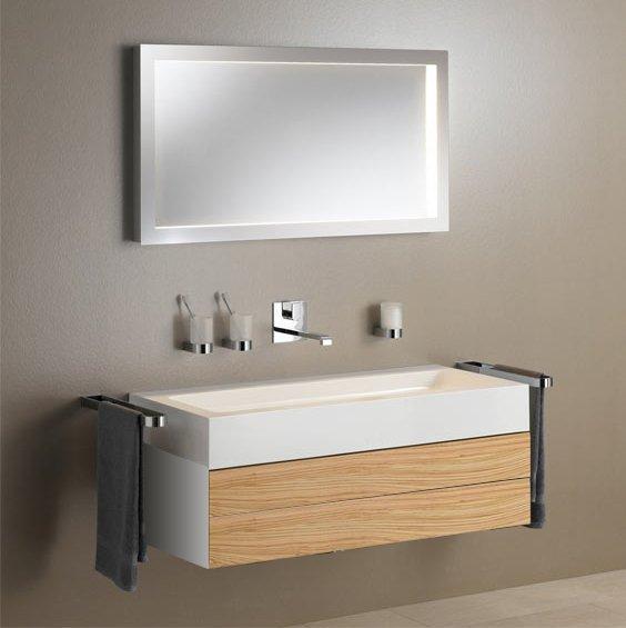 Keuco Edition 300 Комплект мебели 95x52.5х31.5 см, олива