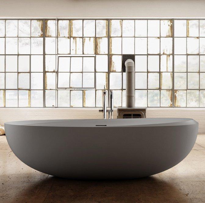 г. Краснодар: Teuco I Bordi отдельностоящая ванна в белом цвете (дюралайт)