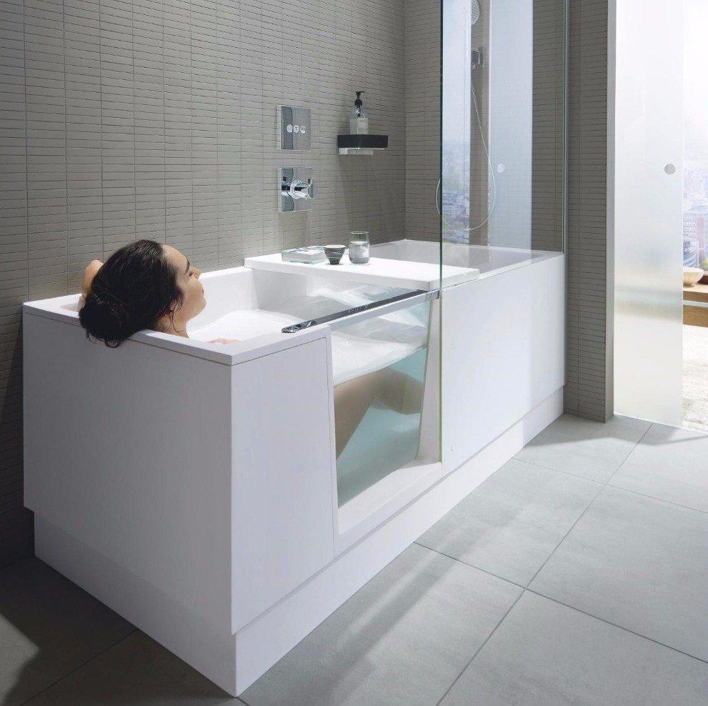 г. Тверь: Duravit Shower+Bath ванна с душевой шторкой - компактное и функциональное решение для любой ванной комнаты