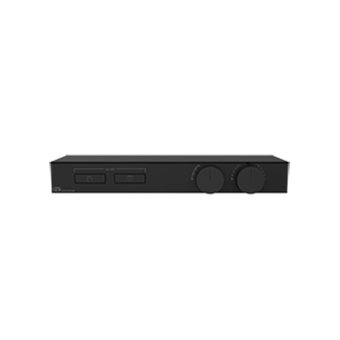 Gessi Hi-Fi Термостат для душа, с вкл. до 2 источников одновременно, с полкой из черного мат. стекла, цвет: Black Metal PVD