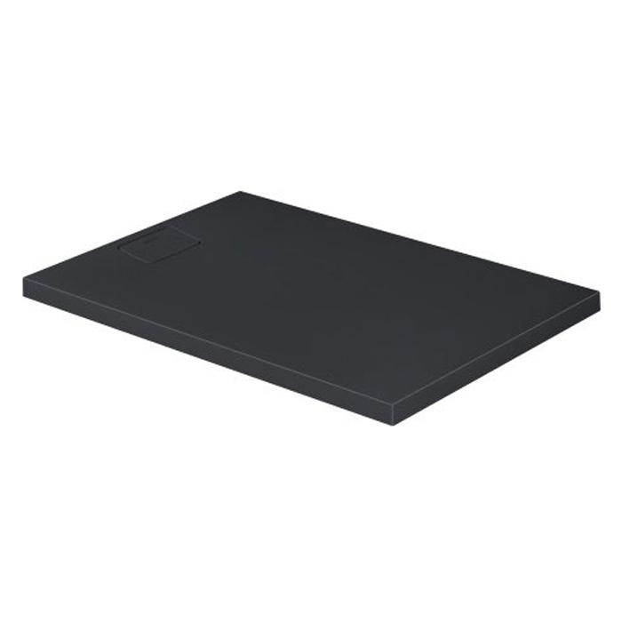 Duravit  Stonetto Поддон композитный прямоугольный  120x80х5см, d9см, цвет Антрацит