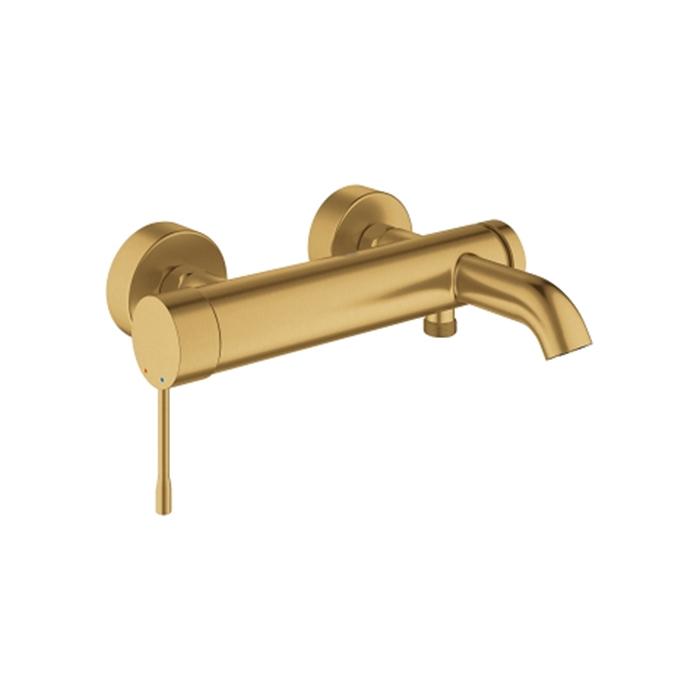 Grohe Essence, Смеситель для ванны, цвет: золото